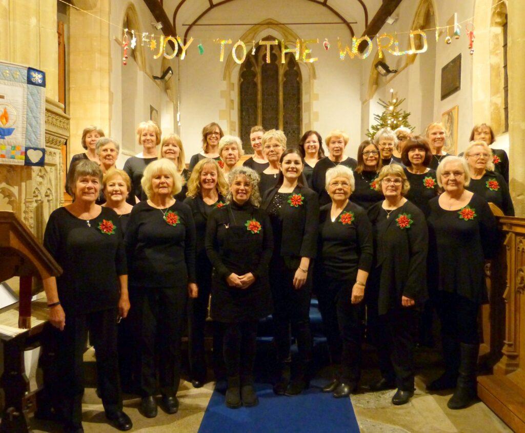 The Bleadon Belles WI Choir