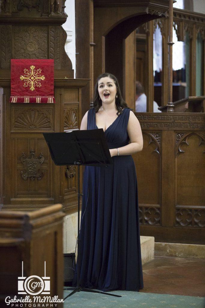 Naomi wedding soloist