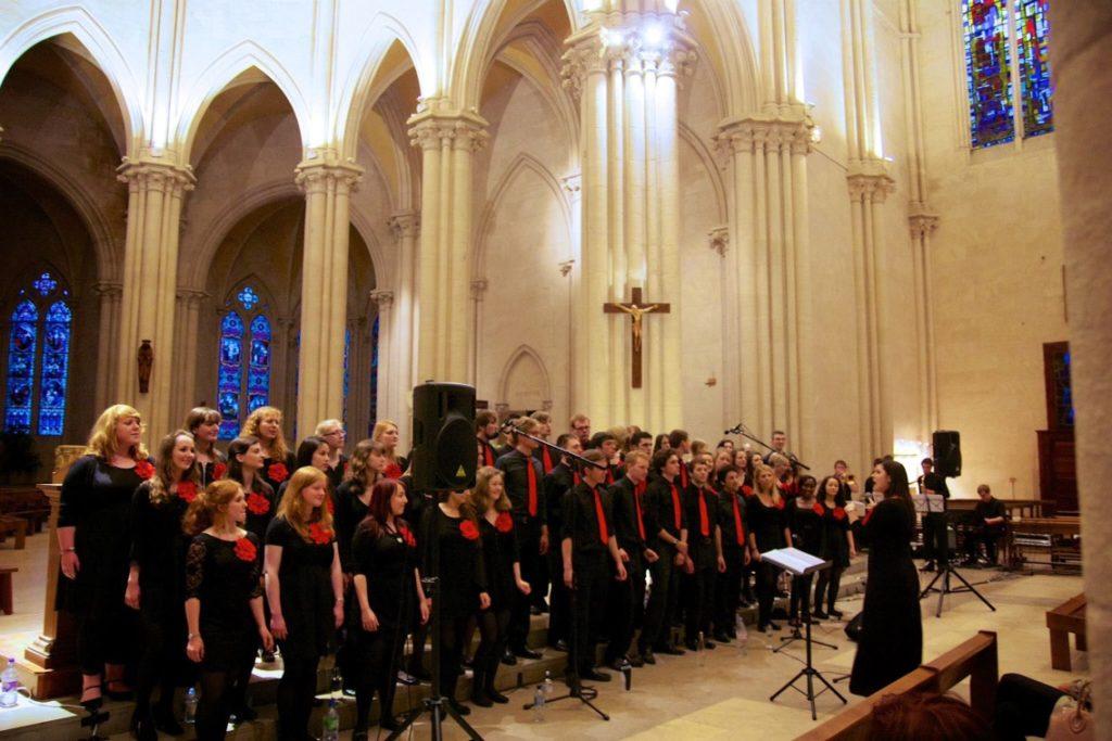 Jazzmanix pop and gospel choir